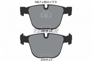 2330902 Колодки дисковые задние bmw e65/e66 4.5/6.0/4.0d 01>